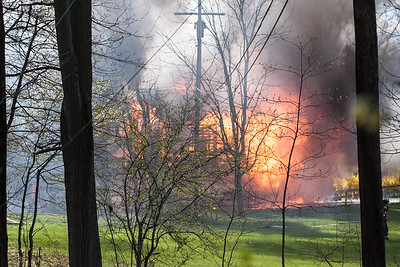 West Amwell Barn Fire-Apr2013-9431
