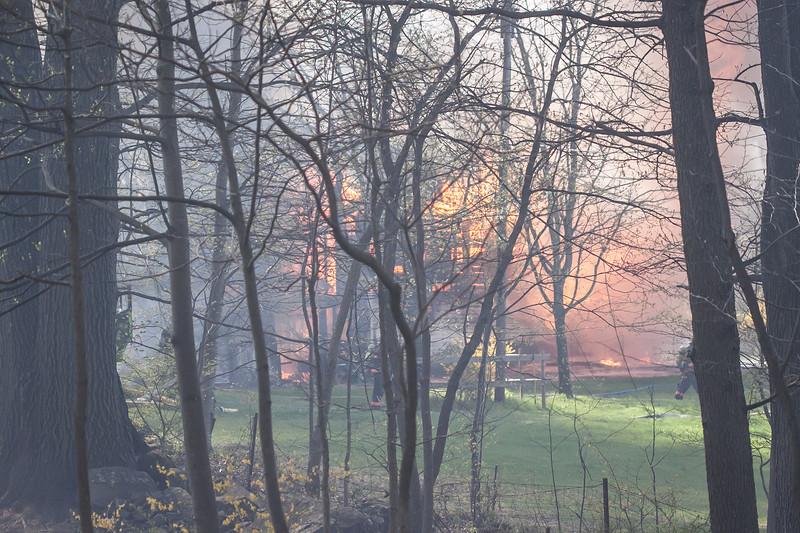 West Amwell Barn Fire-Apr2013-9428