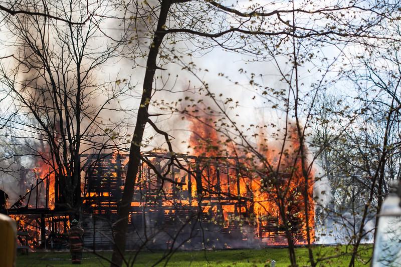 West Amwell Barn Fire-Apr2013-9447