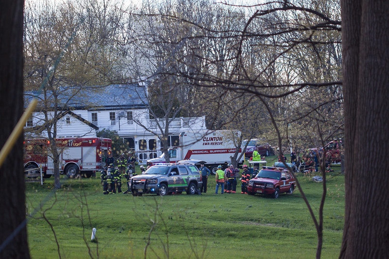 West Amwell Barn Fire-Apr2013-9483