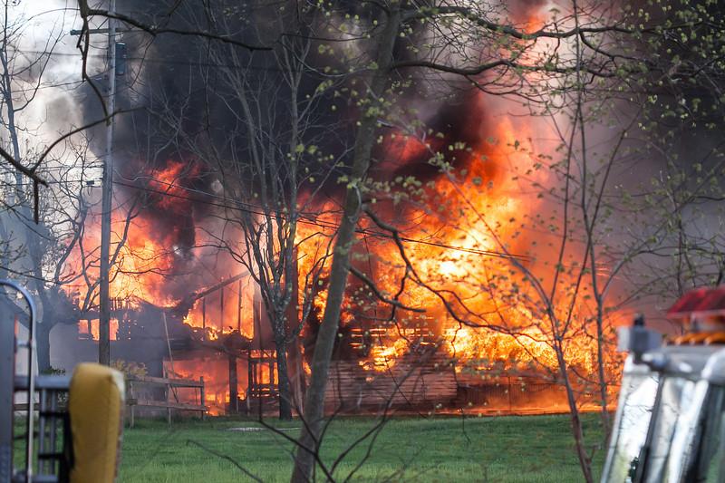 West Amwell Barn Fire-Apr2013-9435