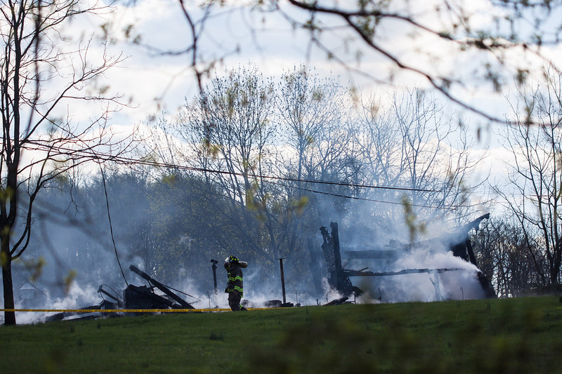 West Amwell Barn Fire-Apr2013-9475