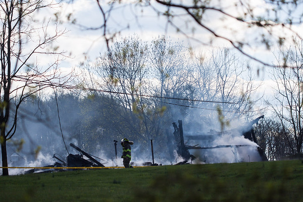 West Amwell Barn Fire-Apr2013-9475