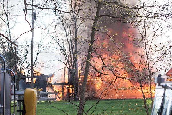 West Amwell Barn Fire-Apr2013-9441