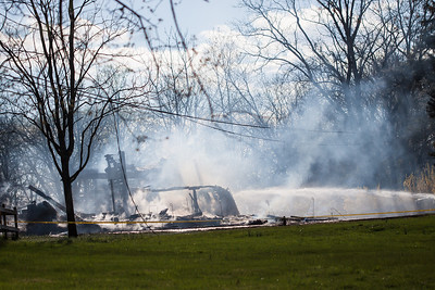 West Amwell Barn Fire-Apr2013-9479