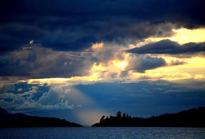 Dramatic Coastal Sky