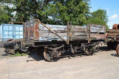 PBA 63058 10t 4w 5 plank open seen at Williton   28/08/15