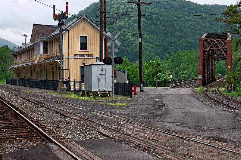 Thurmond, WV, RR Station and Bridge