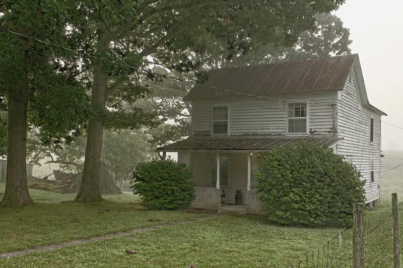 Lowdermilk Homeplace - Vago Road outside Lewisville, WV
