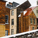 Harper's Ferry Winter Facade