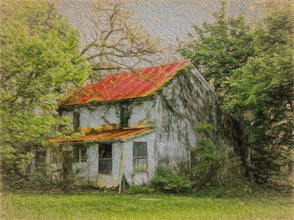 Lick Run Abandoned House