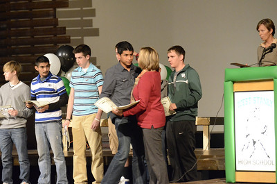West Stanly Fall Sports Recognition and Awards 2012