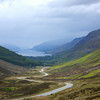 Looking down on Loch Maree, Wester Ross