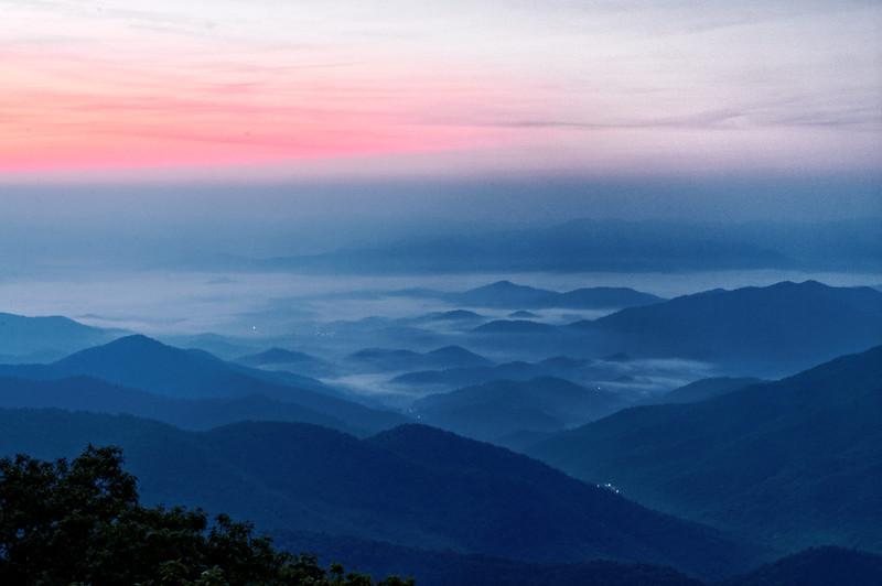 Wayah Mountain Sunrise V