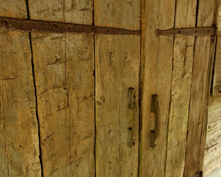 Lick Log Mill Store 1851 Front Door