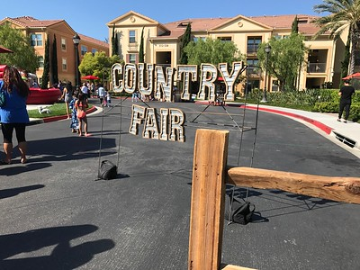 CONTRY FAIR SIGN