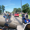 Entering Sturgis rally, actually a day or so early.