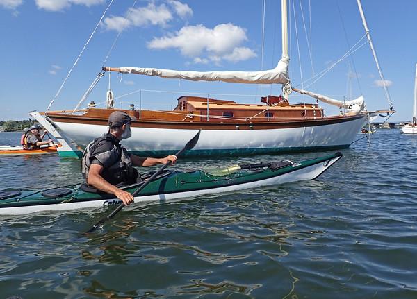 Westport OSPREY SEA KAYAK Skills Weekend with John Carmody & Carl Ladd