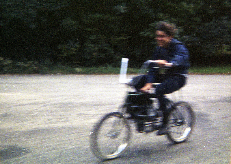 Doug in a hurry, 1967.