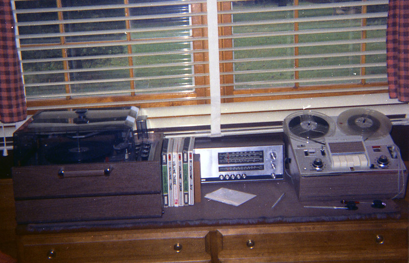 High Fidelity, 1967.  All junked years ago except the Telefunken 4-band radio, which still works.