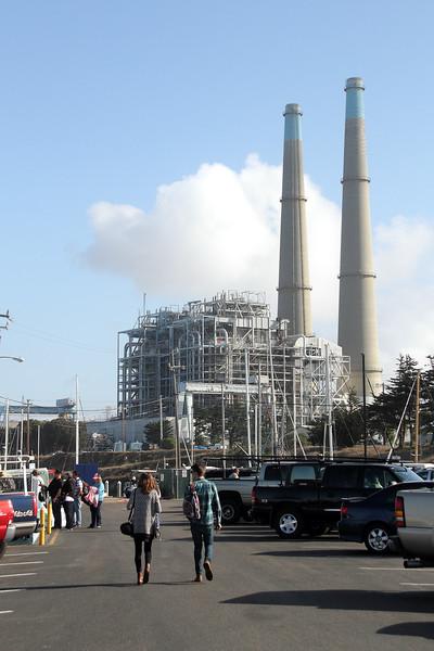 Moss Landing Power Plant.