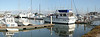 Boats at the Moss Landing dock.