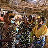 A congregation in the Democratic Republic of the Congo singing hymns in their language, Tshiluba