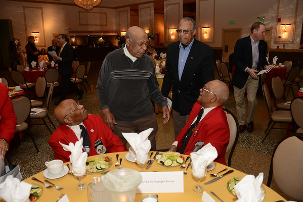 """What it Was Like"" by Documented Original Tuskegee Airmen William Fauntroy, Jr. & Edward Talbert Military Officers Association of America, Susquehanna Chapter"