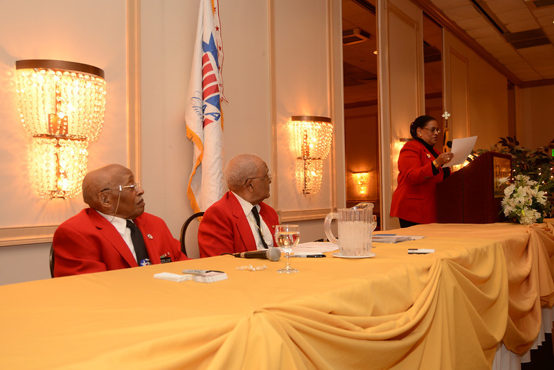"""""""What is Was Like"""" by Documented Original Tuskegee Airmen William Fauntroy, Jr. & Edward Talbert Military Officers Association of America, Susquehanna Chapter"""