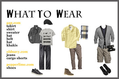 What to wear guys