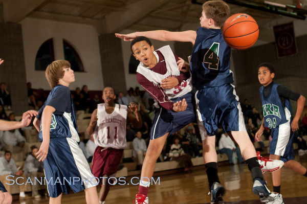 "The 7th and 8th Grade Gray Bees defeated Montclair Kimberly Academy decisively on December 13, 2010 at home.  <a href=""/gallery/15079261_NaKVY"">CLICK HERE</a> to see more pictures.."