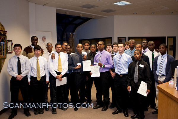 "The St. Benedict's Chapter of the National Honor Society inducted its newest members on April 15, 2010.  <a href=""/gallery/11864808_HvxkS"">CLICK HERE</a> to see more pictures.."