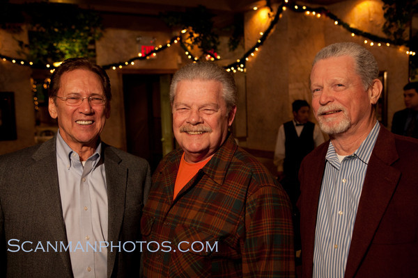 "Gray Bees from the Class of 1956 gather for their monthly first Friday dinner at Bella Italia in Orange in early December.  <a href=""/gallery/14979258_u48ns"">CLICK HERE</a> to see more pictures.."