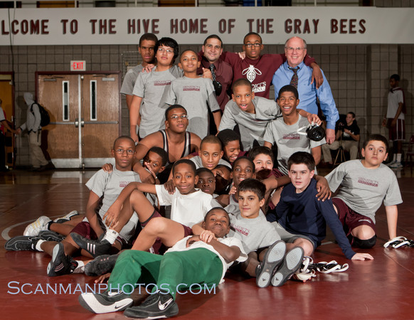 "The recently formed 7th and 8th grade wrestling team competed in their first dual meet against the Buckley School on December 14, 2010.  <a href=""/gallery/15091276_i9g8r"">CLICK HERE</a> to see more pictures.."