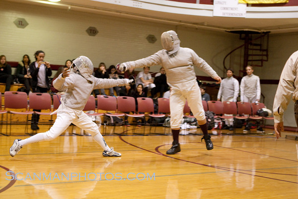 "Gray Bees fencers defeated Bayonne High School January 19, 2010. <a href=""/gallery/11036494_wZH4h"">CLICK HERE</a> to see more pictures..."