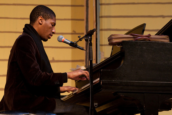 """On January 30, English, Art and Music students kicked off their study of the Harlem Renaissance period with a workshop put on by the American Symphony.  <a href=""""/gallery/7264123_fAYox"""">CLICK HERE</a> to see more pictures..."""