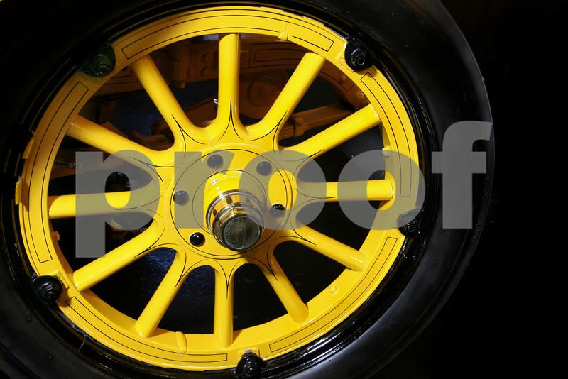 yellow wheel