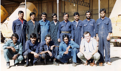 The Sweeper Shop, Afternoon Shift. ?, Perera mk4, DeSilva, Abbiseka, ?, ?, Damasri, ?. Kumar Silva, ?, Jarry, Speedy, Me.