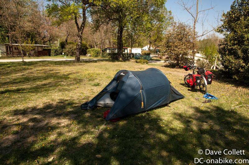 Better campsite