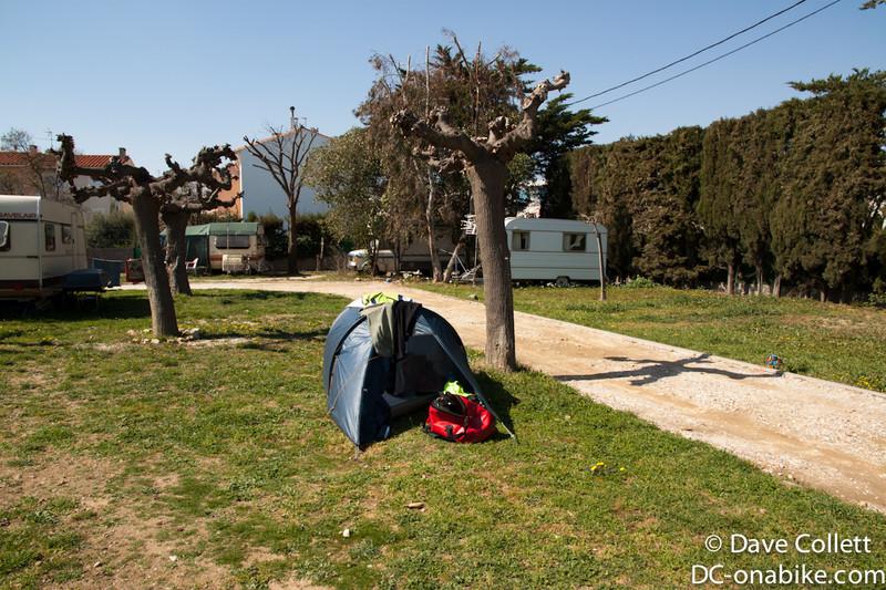 Camp in Perpignan