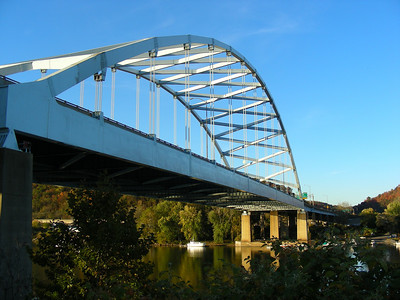 I-79 bridge across the Ohio