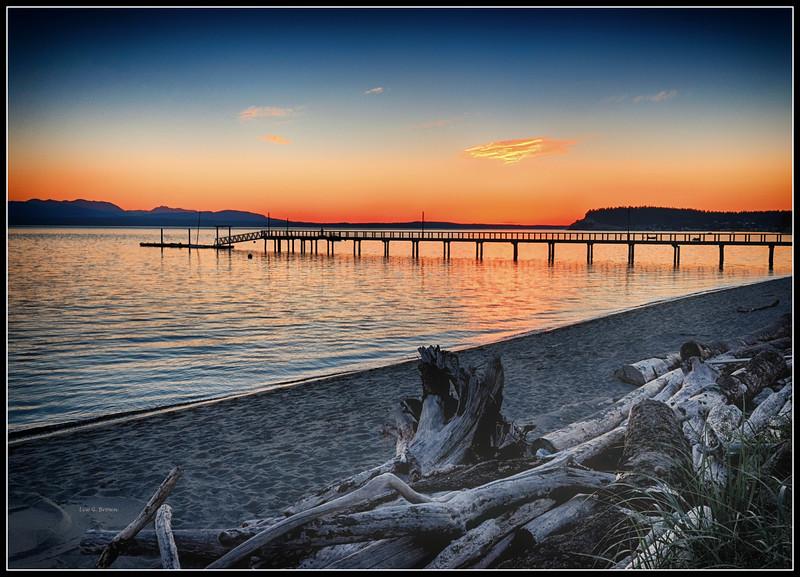 Sunset on Mutiny Bay - 3