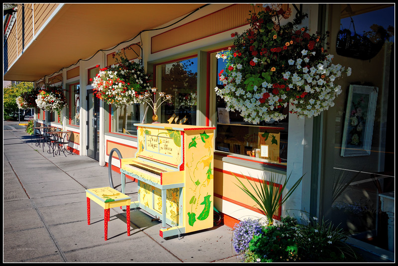 Street Music - Downtown Anacortes, Skagit County