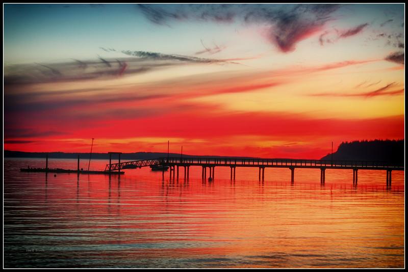 Sunset on Mutiny Bay - 2
