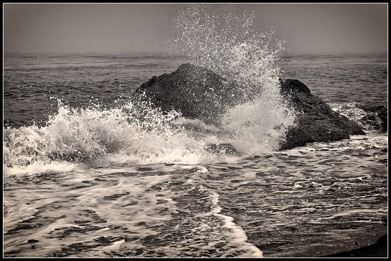 Breaking Wave - Deception Pass State Park , West Beach - 2