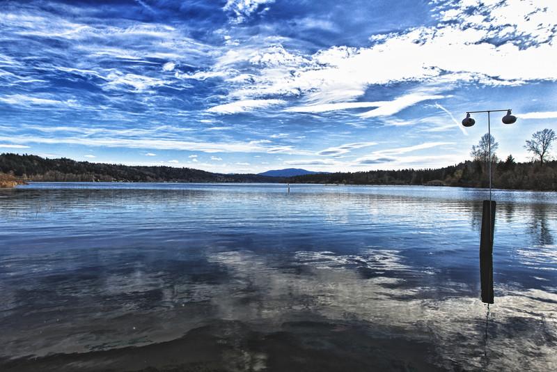Lake Sammamish (HDR)