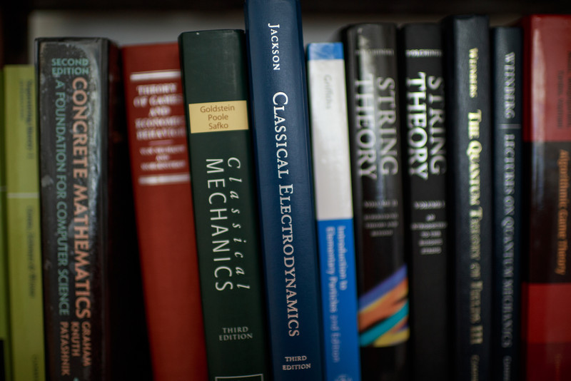 Bookshelf: First photo with Zeiss 35mm f/1.4.