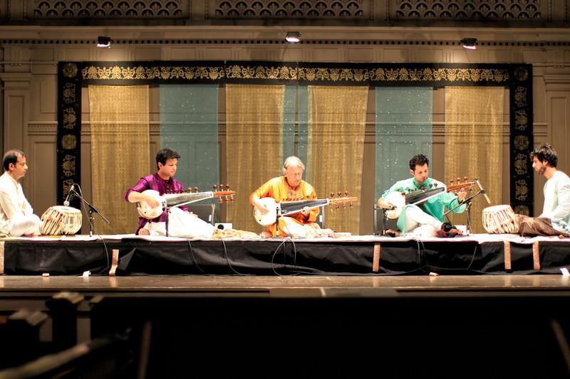 Amjad Ali Khan sarod concert, Seattle.