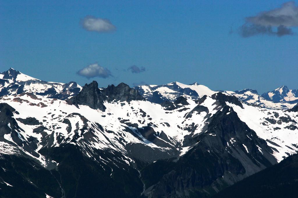 From Whistler Peak