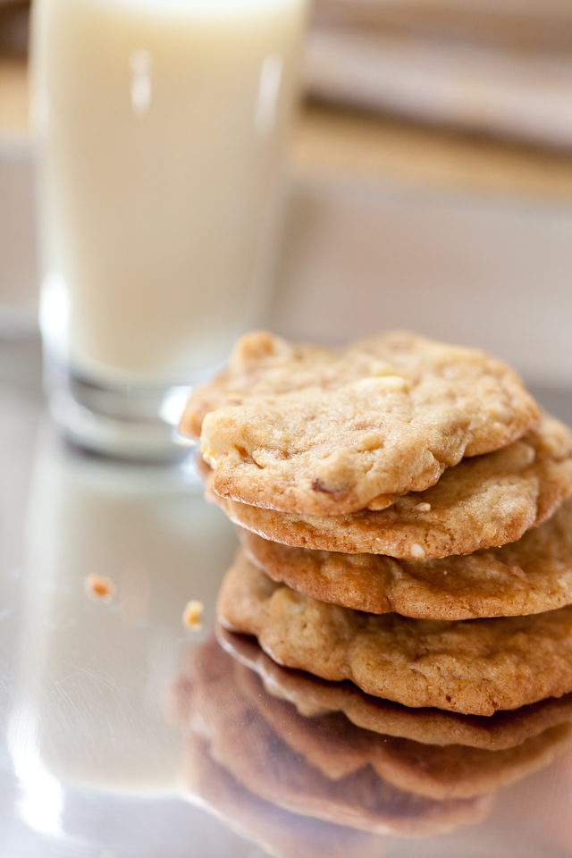 1227143918 FvcT8 X2 1 >Attention All Cookie Monsters: White Chocolate Toffee Macadamia Cookies